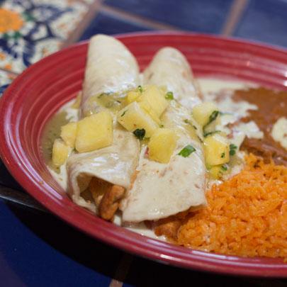 Image of Lunch Enchiladas Suizas