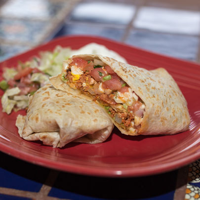 Mexican Breakfast Burrito