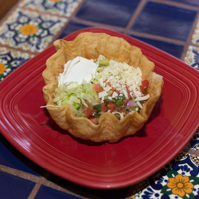 Image of Lunch Taco Salad